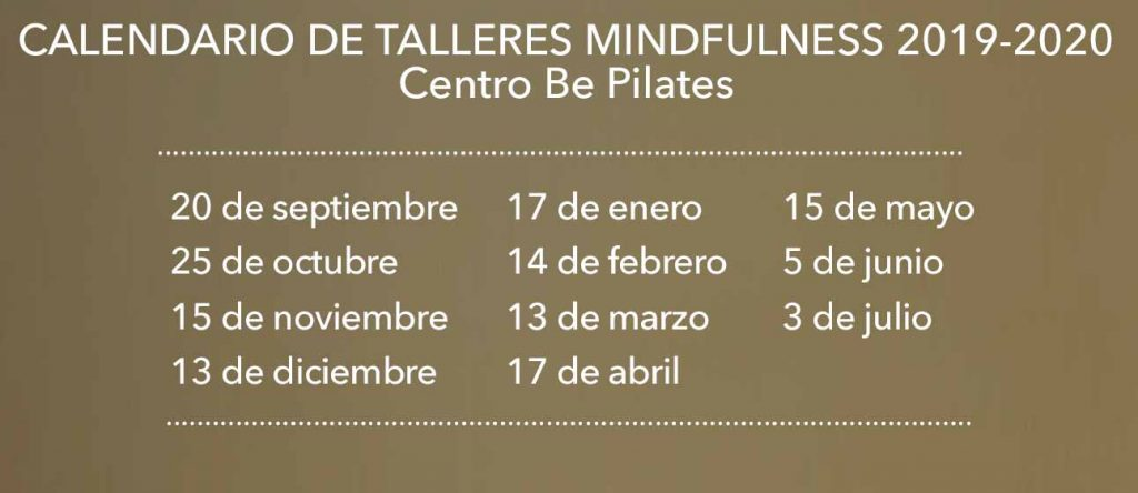 clases mindfulness