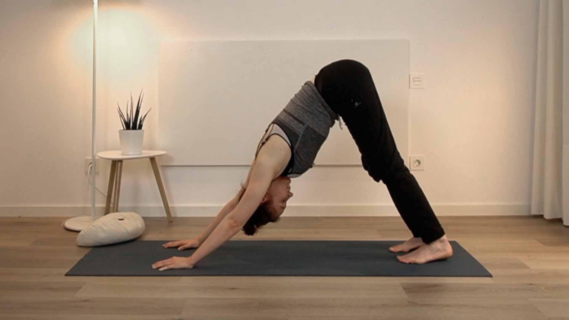 clase de yoga para la espalda
